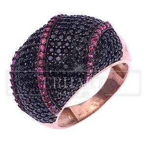 Jewelry - Chic Black Gemstone Rings